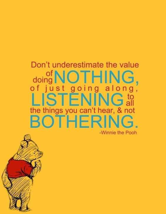 Winnie the Pooh motivational quote