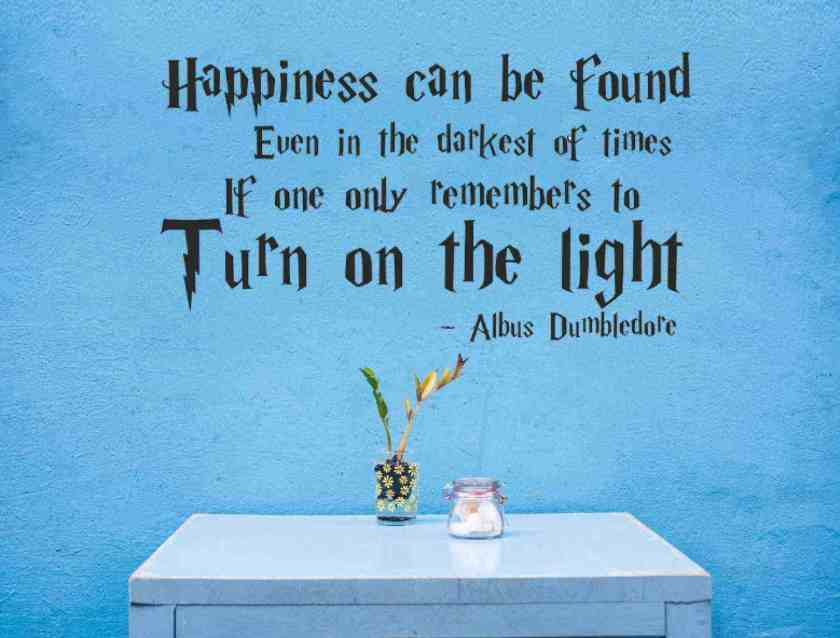 happiness quote from Harry Potter and the Prisoner of Azkaban by J.K.Rowling