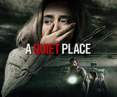 A Quiet Place - a horror film