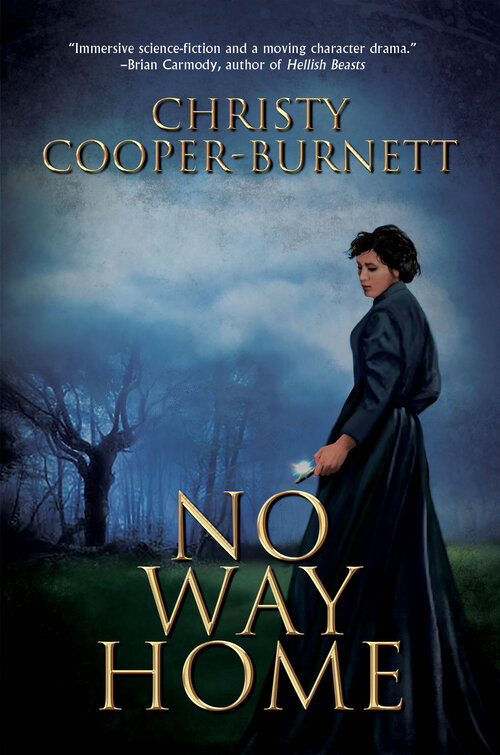 No Way Home by Christy Cooper-Burnett - Review, Book Cover