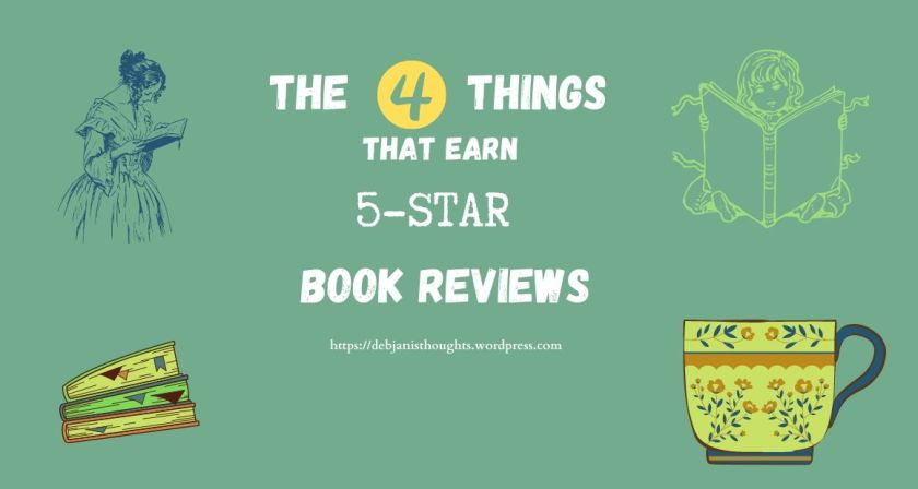 The 4 things that earn 5-star book reviews