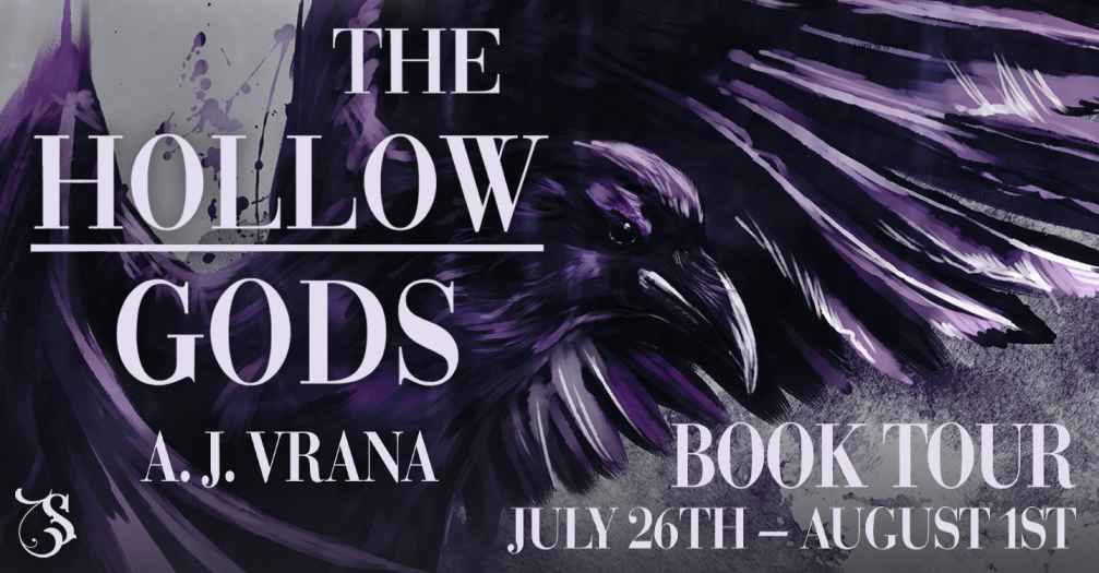 The Hollow Gods by A. J. Vrana - Review & Book Cover