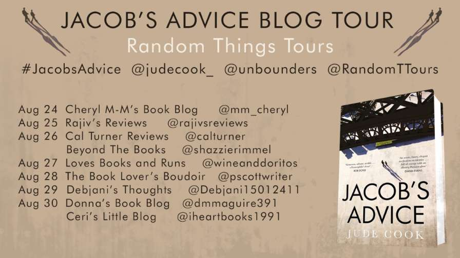 Jacob's Advice by Jude Cook - Blog Tour