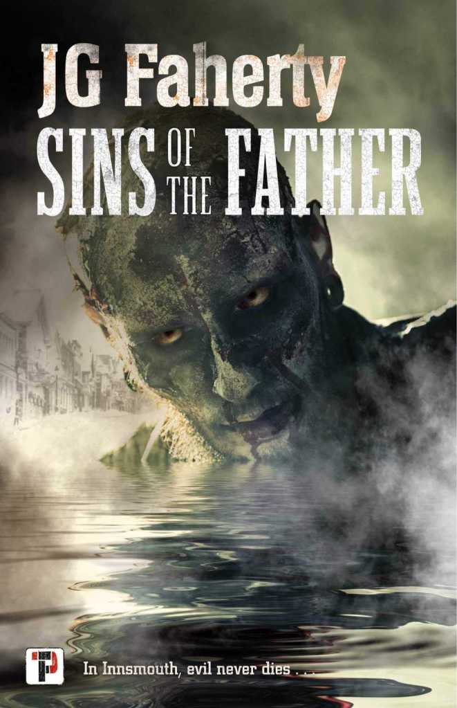 Sins of the Father by JG Faherty Review and book cover