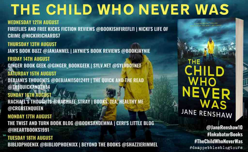 The Child Who Never Was by Jane Renshaw - Review