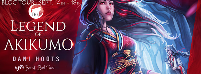 The Legend of Akikumo by Dani Hoots Review & Blog Tour