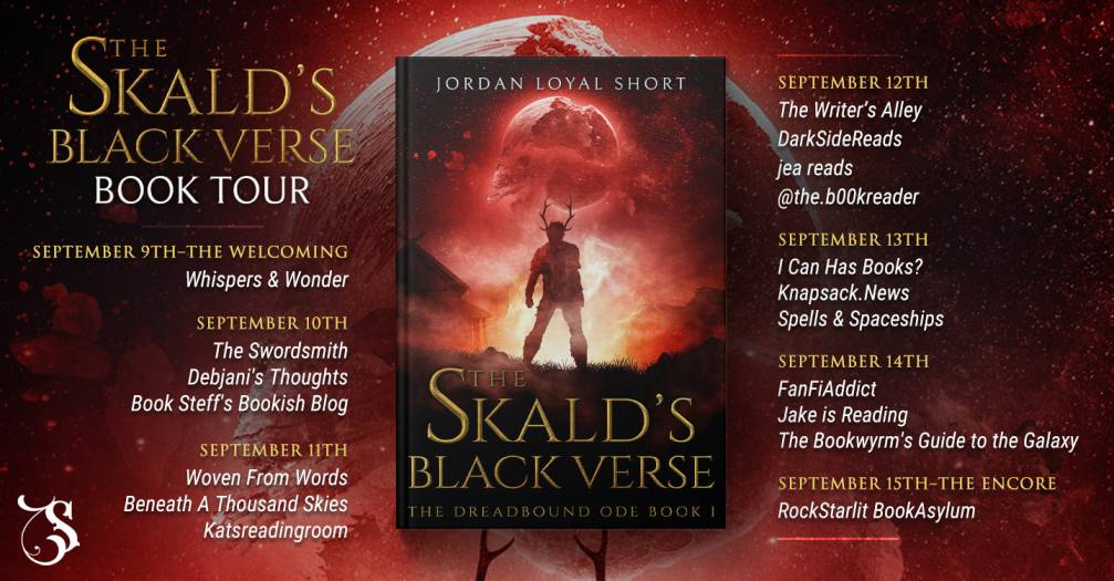 The Skald's Black Verse by Jordan Loyal Short blog tour schedule