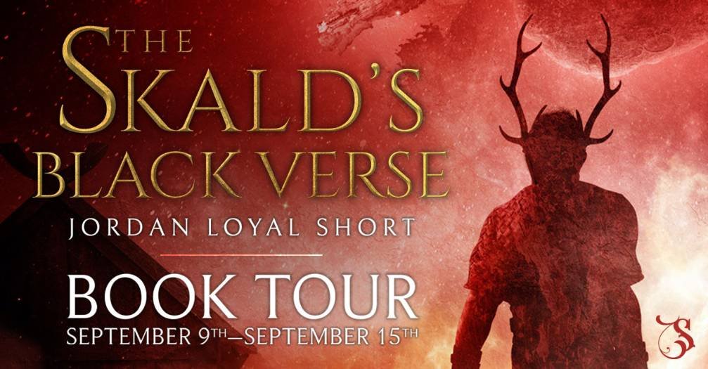 The Skald's Black Verse by Jordan Loyal Short review & blog tour
