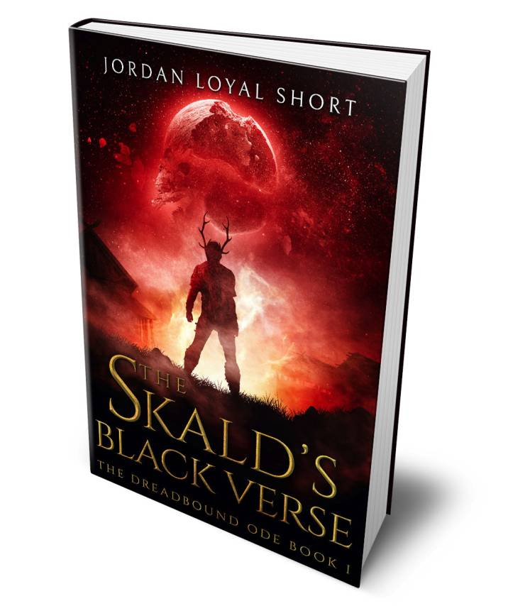 The Skald's Black Verse by Jordan Loyal Short - Review & Book cover