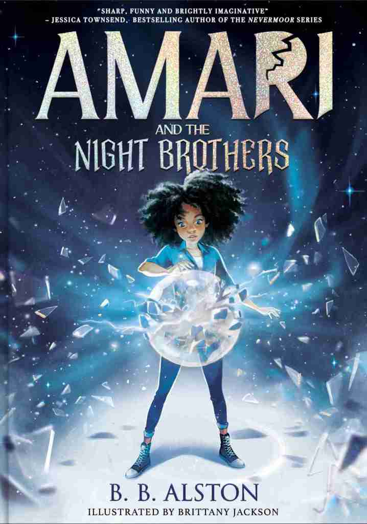 Amari and the Night Brothers by B.B. Alston - book cover
