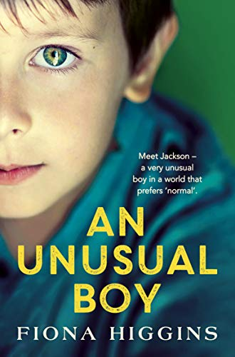 An Unusual Boy by Fiona Higgins book cover