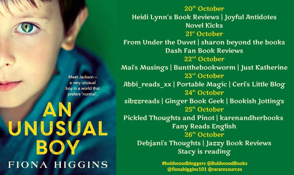 An Unusual Boy by Fiona Higgins - Review
