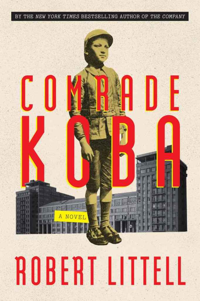 Comrade Koba by Robert Littell book cover