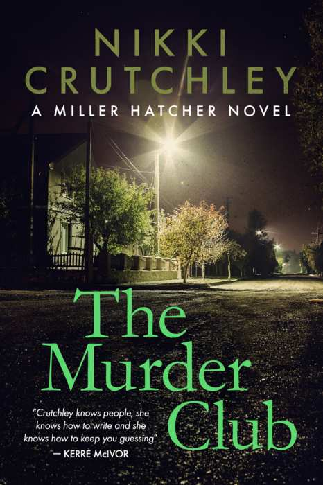 The Murder Club by Nikki Crutchley - Book Cover