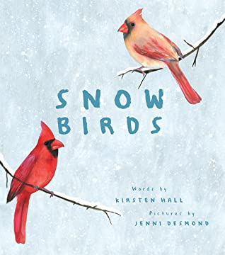 Snow Birds by Kirsten Hall book cover