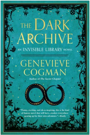 The Dark Archive by Genevieve Cogman book cover