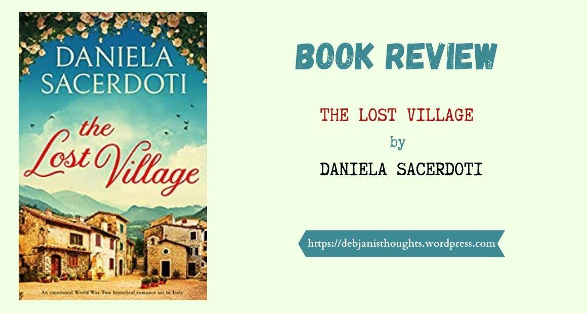 The Lost Village by Daniela Sacerdoti – Review | Bookouture Books onTour