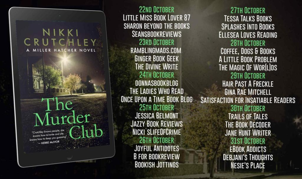 The Murder Club by Nikki Crutchley - Review