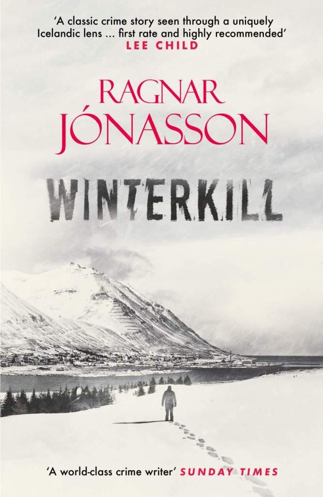 Winterkill by Ragnar Jonasson book cover