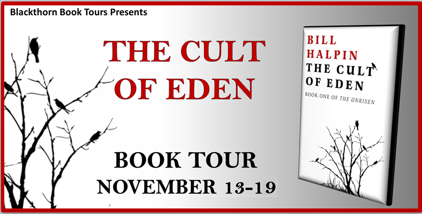 The Cult of Eden by Bill Halpin - Review | Blog Tour