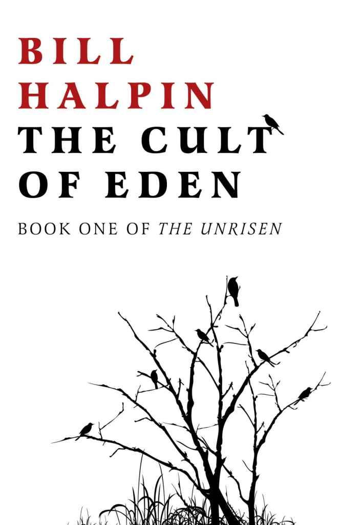 The Cult of Eden by Bill Halpin - Book cover