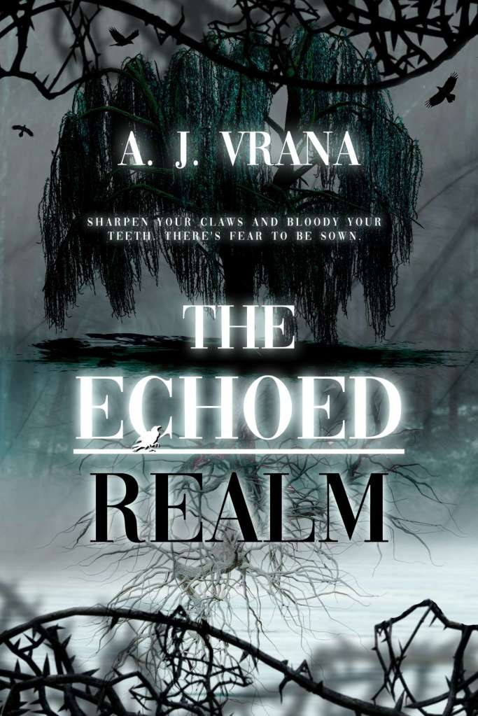 The Echoed Realm by A. J. Vrana book cover