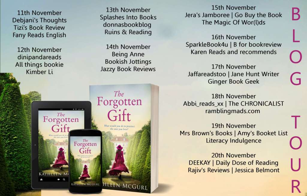 The Forgotten Gift by Kathleen McGurl - BlogTour Schedule