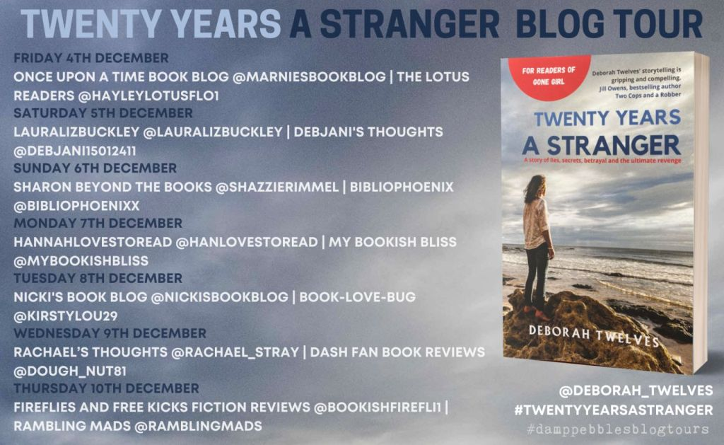 Twenty Years a Stranger by Deborah Twelves - Review | Blog Tour