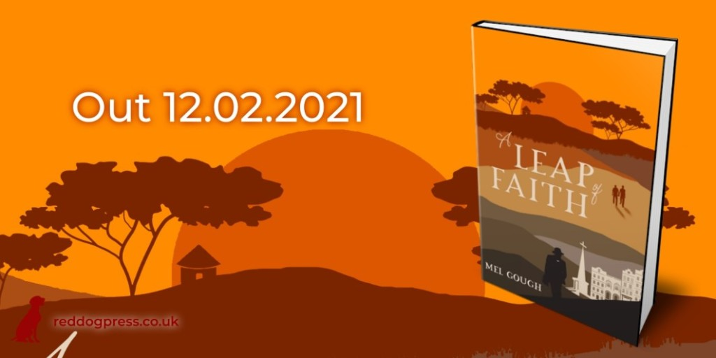 A Leap of Faith by Mel Gough - Cover Reveal
