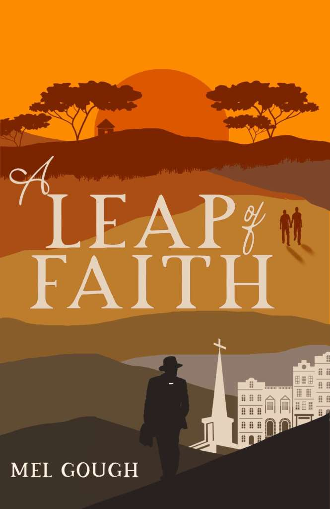 A Leap of Faith by Mel Gough book cover