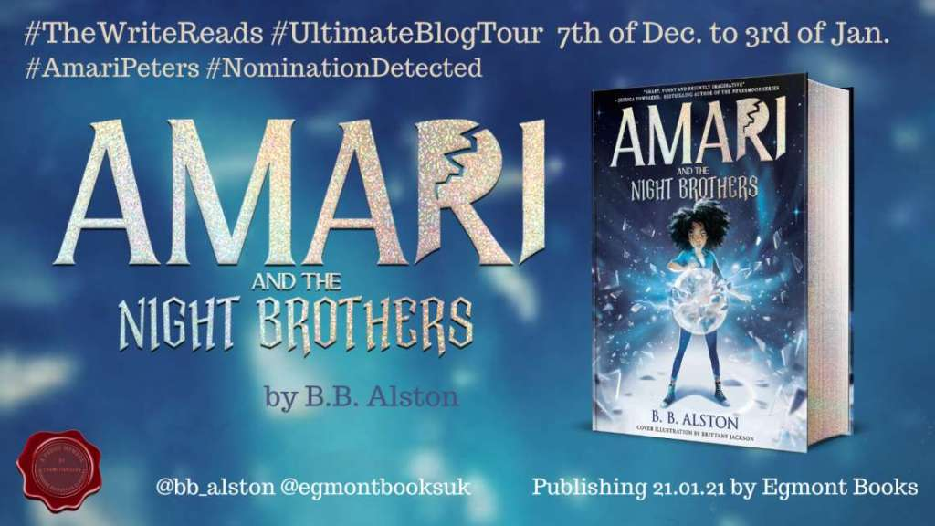 Amari and the Night Brothers by B.B. Alston - Review | Blog Tour