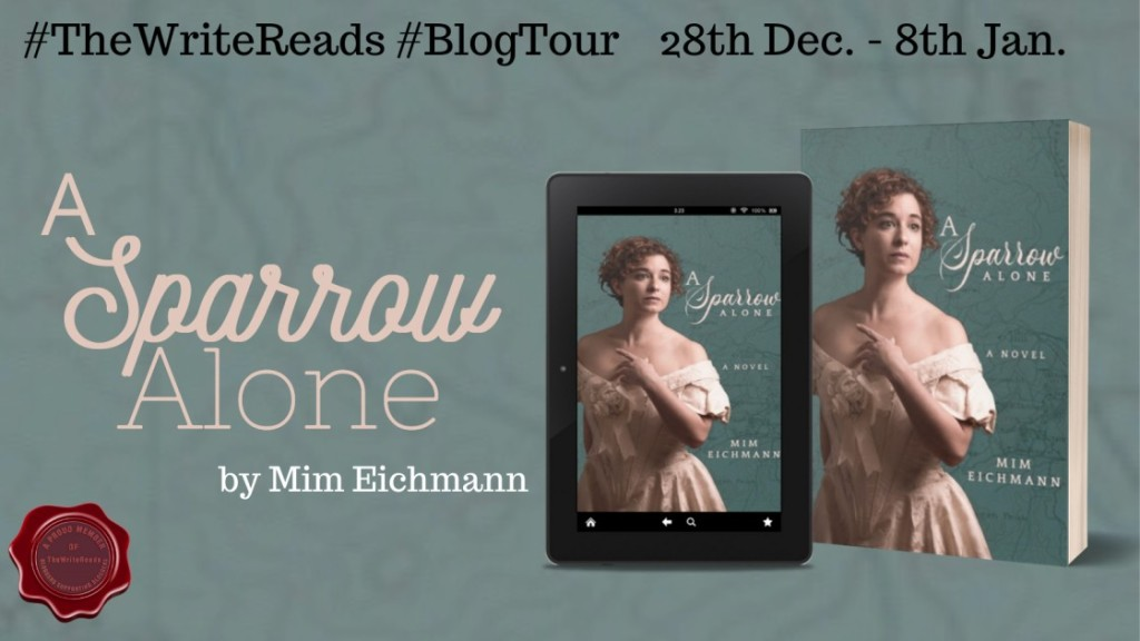 A Sparrow Alone by Mim Eichmann - Review | Blog Tour