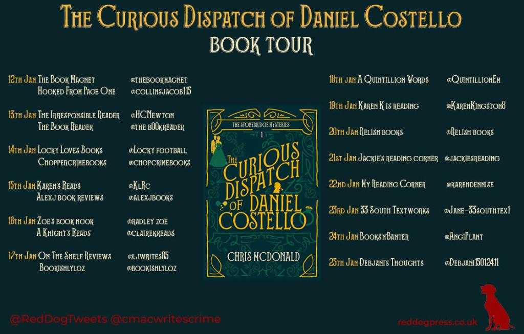 The Curious Dispatch of Daniel Costello by Chris McDonald - Review