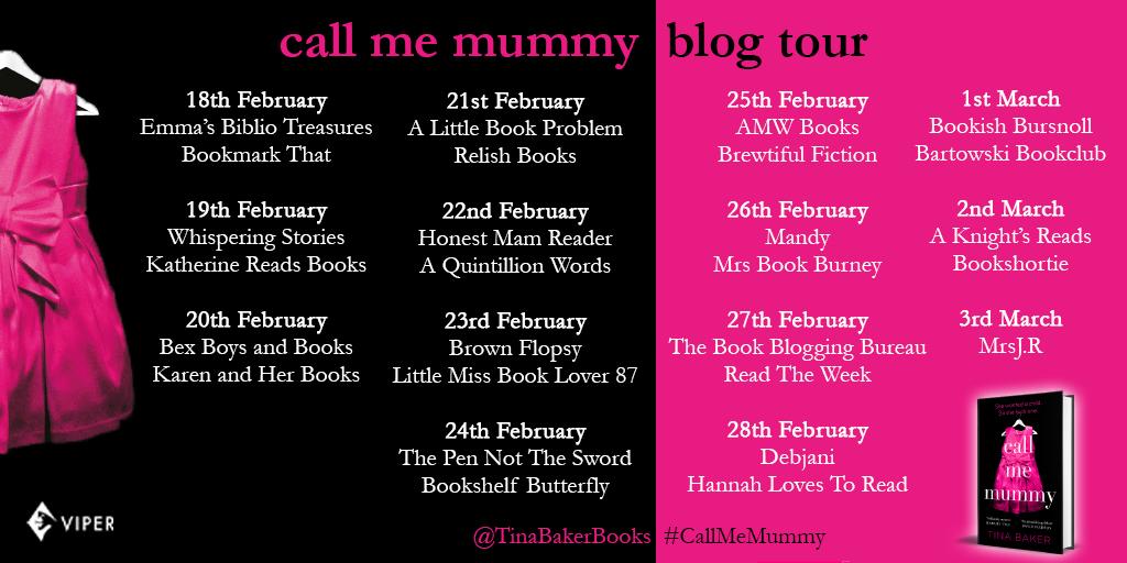 Call Me Mummy by Tina Baker – Review | BlogTour