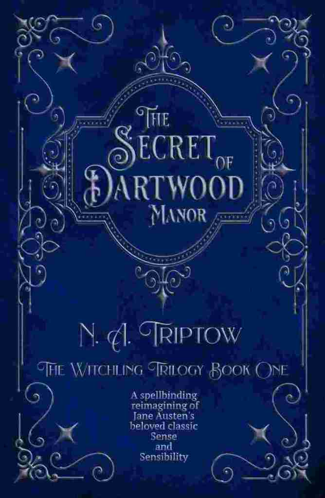 The Secret of Dartwood Manor by N.A. Triptow book cover