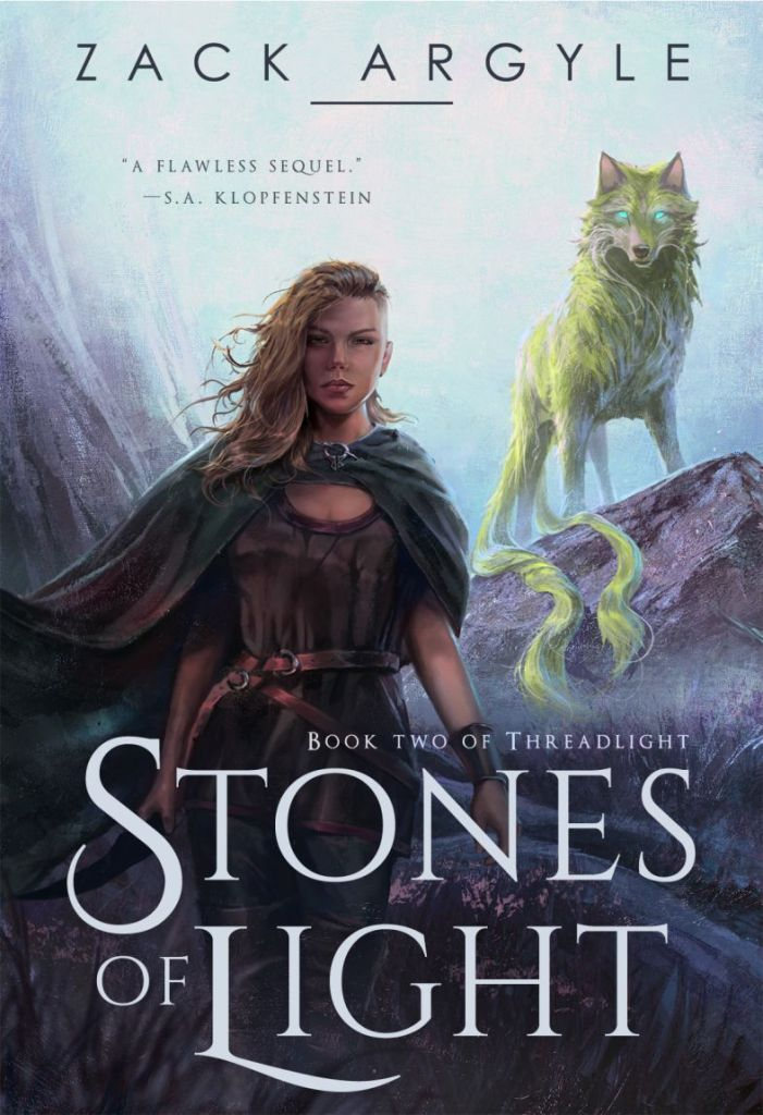 Stones of Light by Zack Argyle - book cover