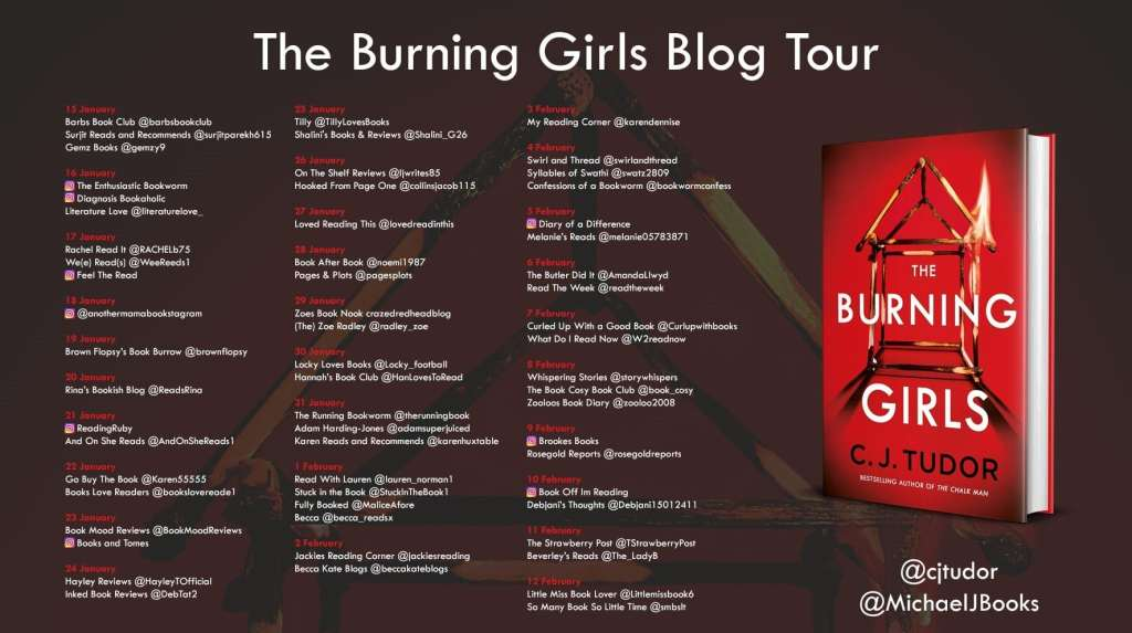 The Burning Girls by C.J. Tudor - Review