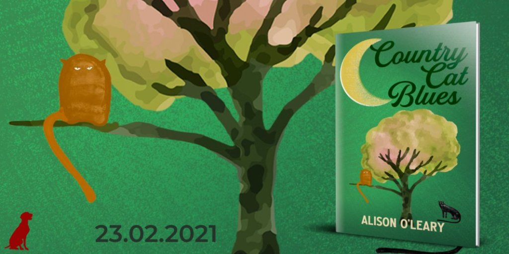 Country Cat Blues by Alison O'Leary - Cover Reveal banner