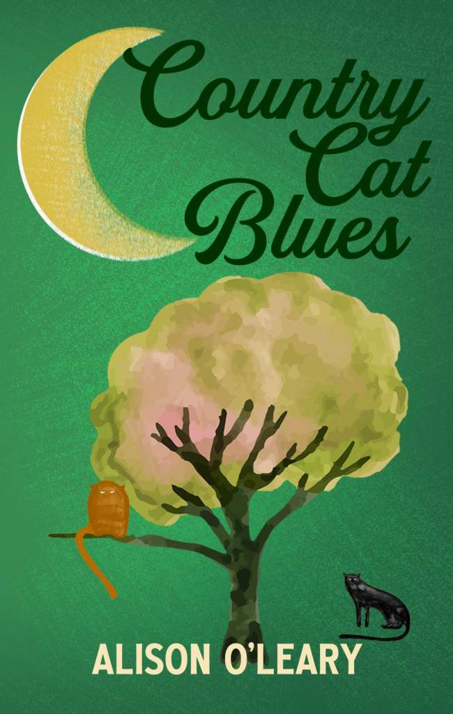 Country Cat Blues by Alison O'Leary book cover