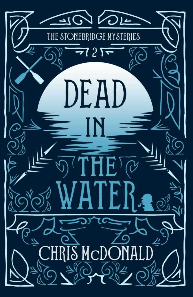 Dead in the Water by Chris McDonald - Cover Reveal book cover