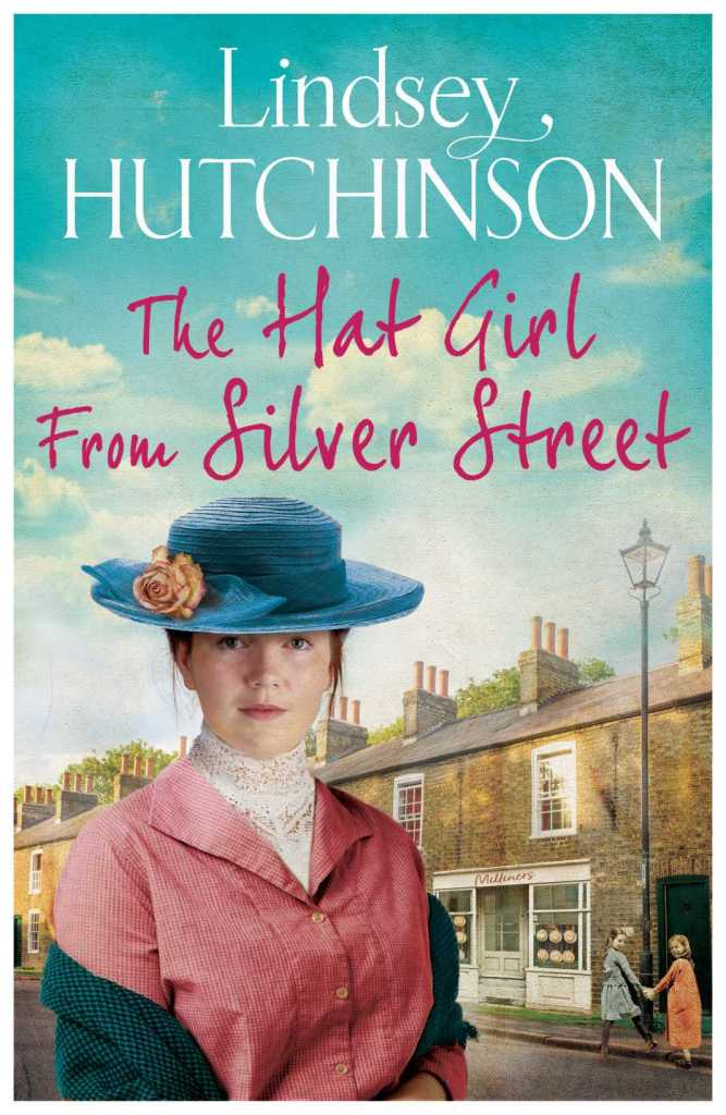 The Hat Girl From Silver Street by Lindsey Hutchinson book cover