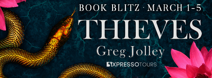 Thieves by Greg Jolley  -  Book Blitz banner