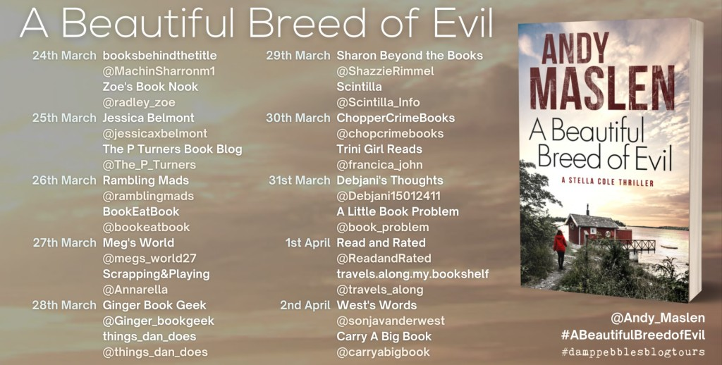 A Beautiful Breed of Evil by Andy Maslen - Review | Blog Tour