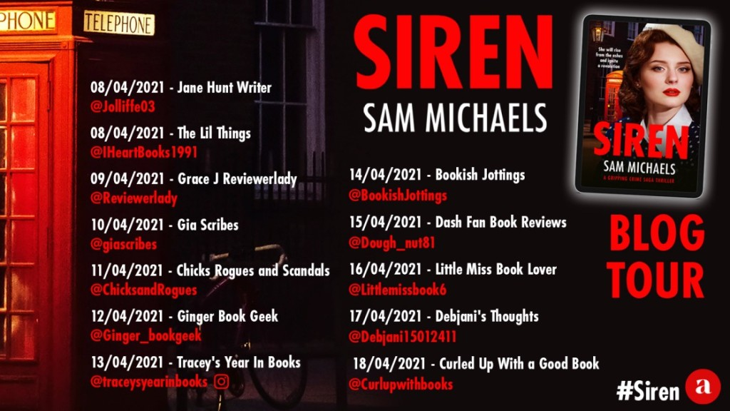 Siren by Sam Michaels - Review | Blog Tour