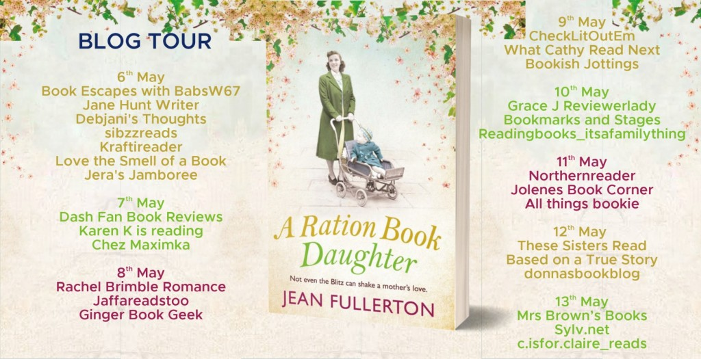 A Ration Book Daughter by Jean Fullerton - Review | Blog Tour
