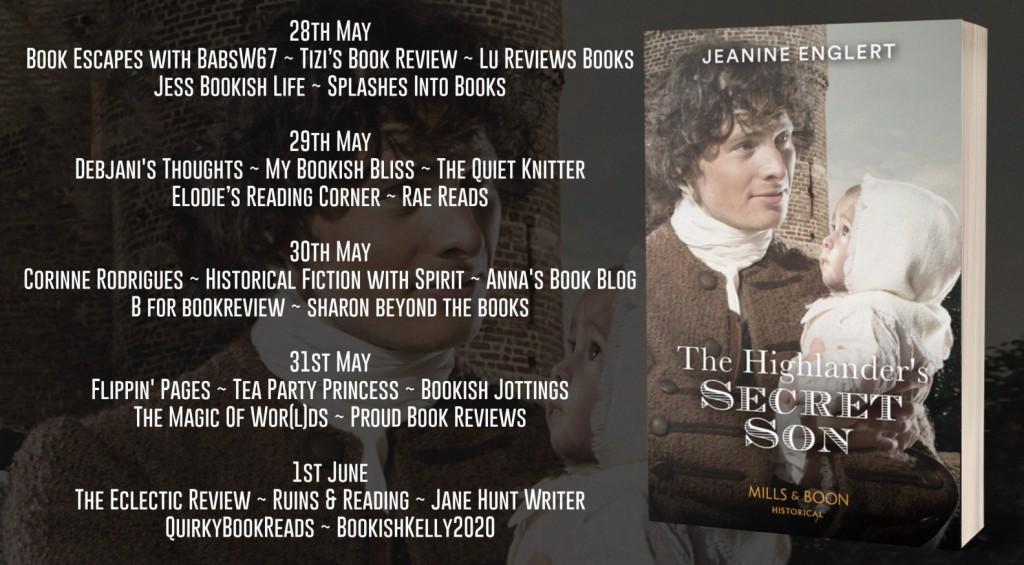The Highlander's Secret Son by Jeanine Englert - Review | Blog Tour