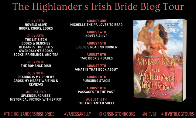 The Highlander's Irish Bride by Vanessa Kelly - Review | Blog Tour