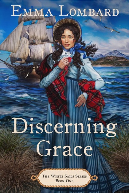 Discerning Grace by Emma Lombard - book cover