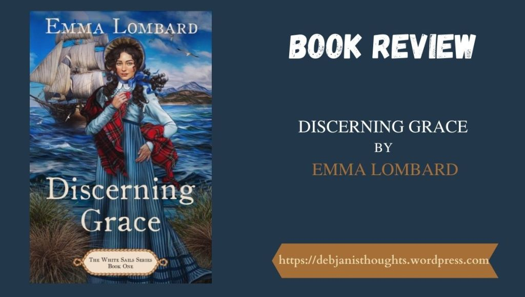 Discerning Grace by Emma Lombard - Review | Blog Tour